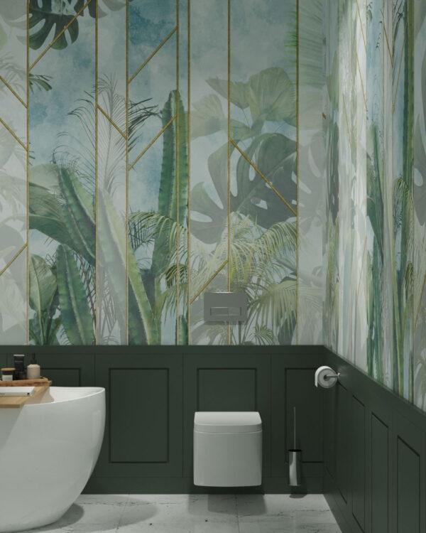 Fototapety Foliage Behind the Glass | tapety 3d na ścianę