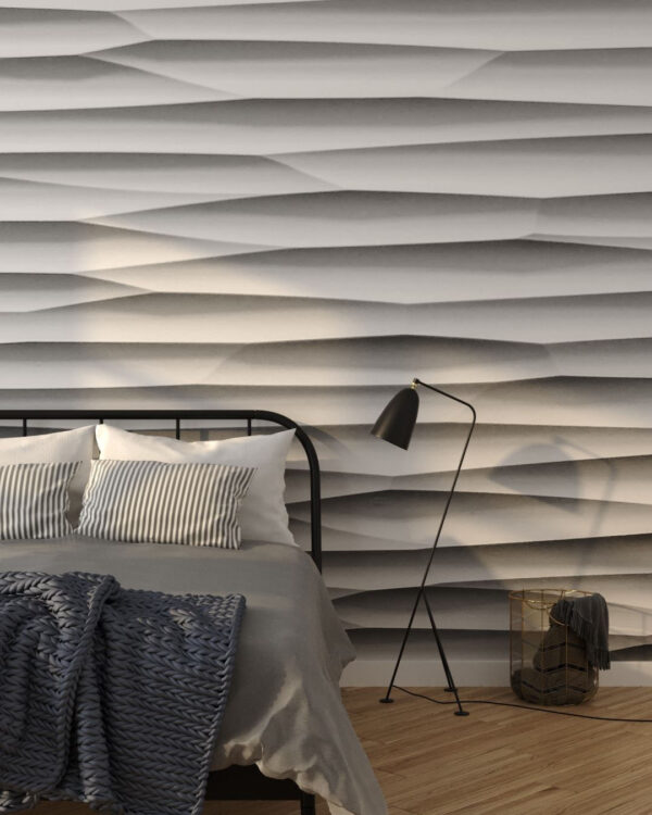 Fototapety Strutturato Gypsum Panel | tapety 3d do sypialni
