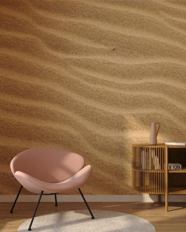 Fototapety Strutturato Sand Amber | tapety 3d do salonu