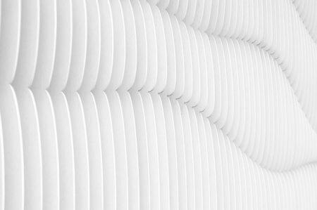 Fototapety Strutturato Wooden Waves przykład biały | tapety 3d