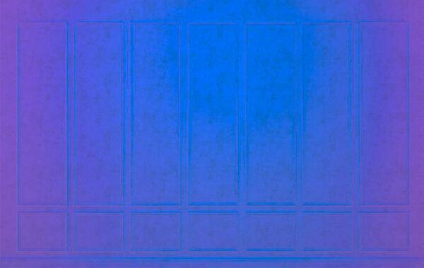 Fototapety Contenido Neon niebieski z fioletowym odcieniem | tapeta w kuchni przy stole