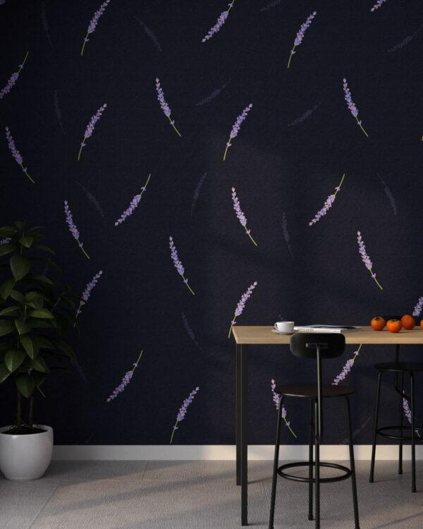 Fototapety Lavender 3D | tapety 3d do salonu