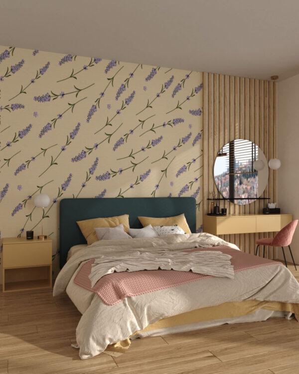 Fototapety Foliage Behind the Glass   tapety w 3d do sypialni
