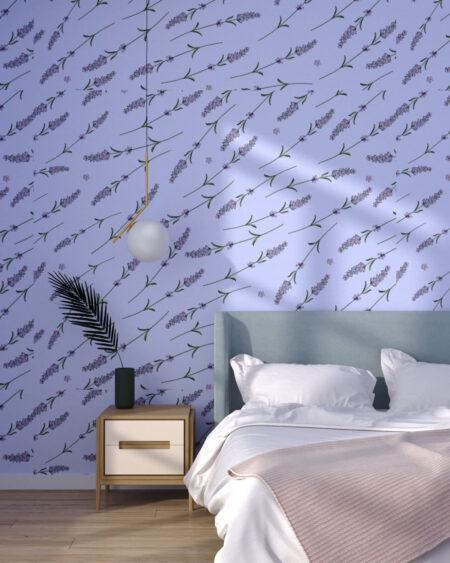 Fototapety Lavender Violet | tapety 3d do sypialni