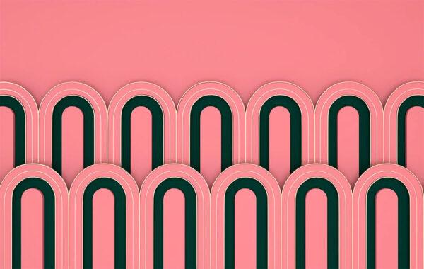 Fototapety Estetista Pink delikatny przykład | fototapeta do sypialni