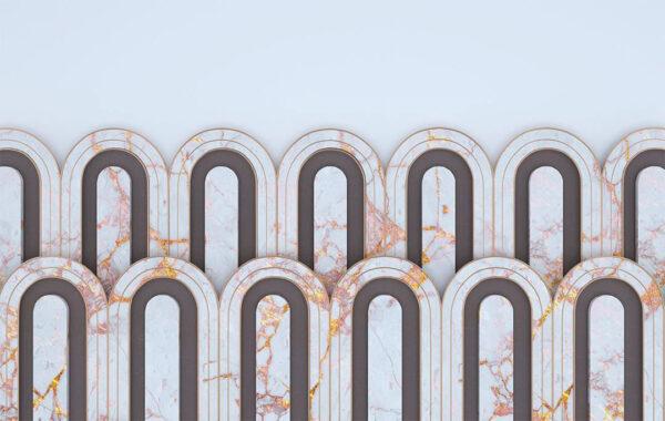 Fototapety Estetista Blue Marble przykład   tapety 3d do sypialni