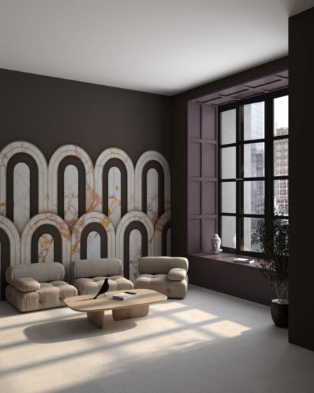 Fototapety Estetista Cappuccino | tapety 3d do salonu