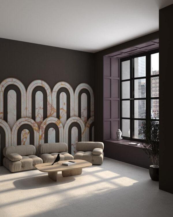 Fototapety Estetista Cappuccino   tapety 3d do salonu