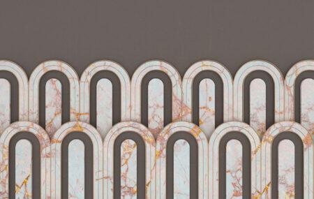 Fototapety Estetista Cappuccino szary kolor | tapety 3d
