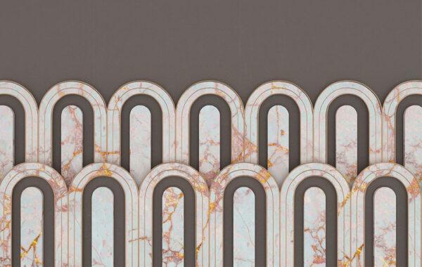 Fototapety Estetista Cappuccino szary kolor   tapety 3d