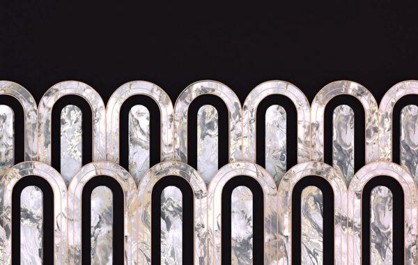 Fototapety Estetista Cappuccino czarny kolor   tapety 3d