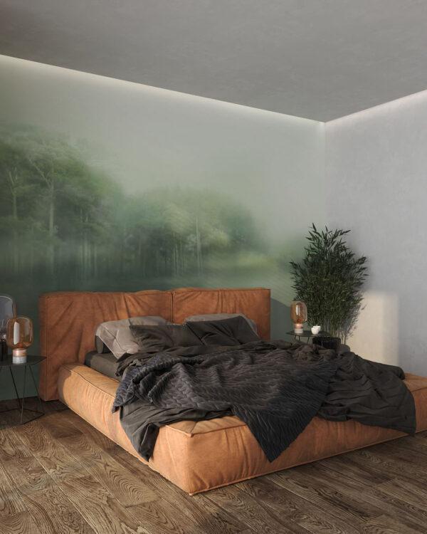 Fototapety Foggy Forest | tapety 3d do sypialni