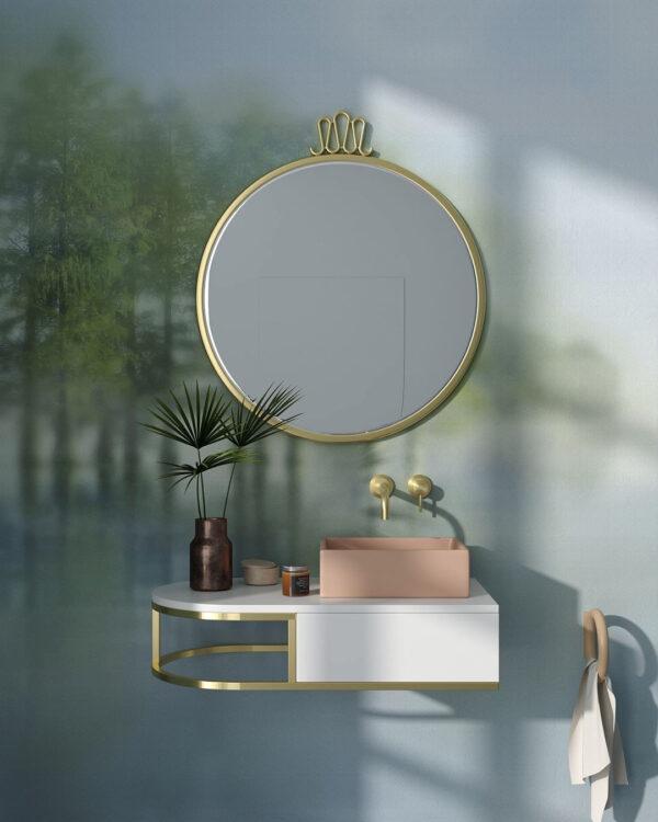 Fototapety Foggy Forest Dream | fototapeta do łazienki