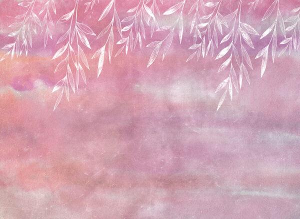 Fototapety Textured Autumn różowe odcienie | fototapeta 3d do kuchni