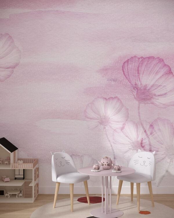 Fototapety Textured Romance   tapety do pokoju dziewczynki