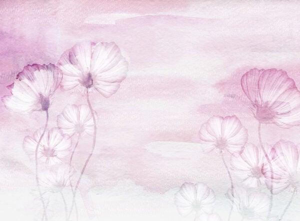 Fototapety Textured Romance różowy odcień   fototapeta kwiaty