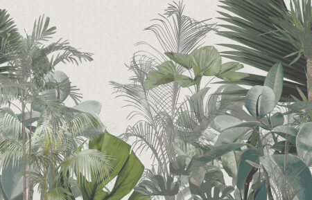 Fototapeta Dzika Dżungla | fototapeta kwiaty