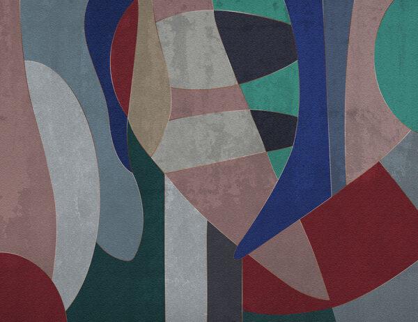 Fototapety Geometry Surface pastelowe odcienie | tapety 3d