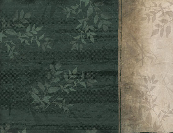Fototapety Rich Craquelure zielone odcienie | tapeta do kuchni 3d
