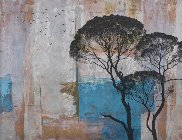 Fototapety Root Art delikatny kolor miąższu | tapety 3d do salonu
