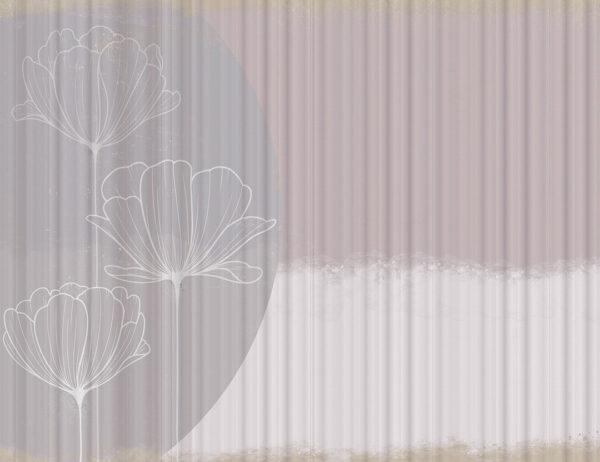 Fototapety Bliss Trio przykład falisty | tapety 3d do sypialni