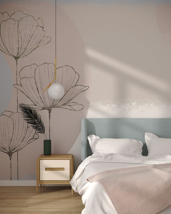 Fototapety Bliss Pastel | tapety do sypialni 3d