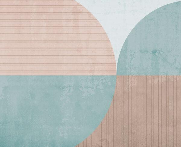 Fototapety Curiosite miąższ i niebieski odcień | tapety 3d do salonu