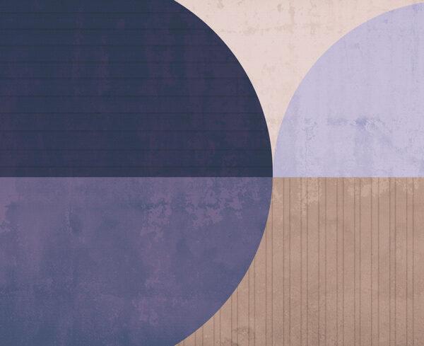 Fototapety Curiosite miąższ i fioletowy odcień | tapety 3d do salonu