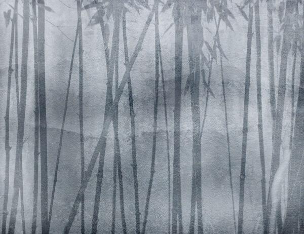 Fototapety Behind Winter szare odcienie | tapeta 3d sypialnia