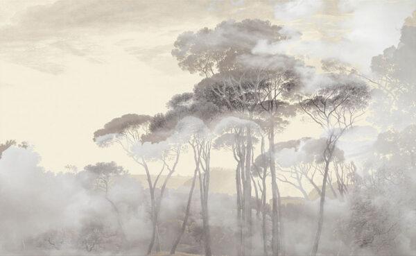 Fototapety Armonia of the Sunrise żółte odcienie | tapeta las