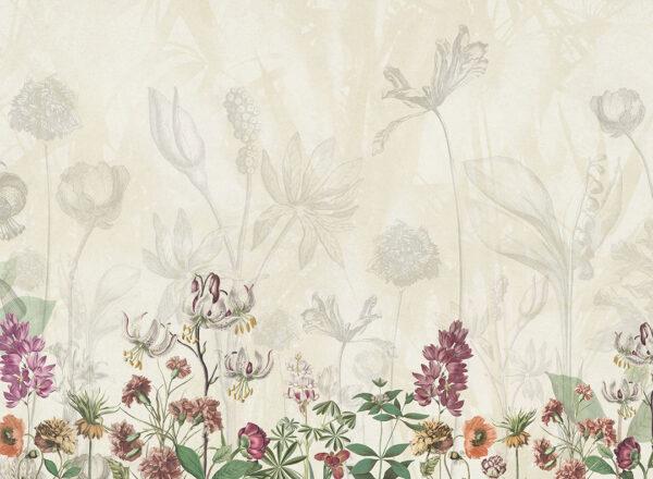 Fototapety Garden żółte odcienie | fototapeta kwiaty