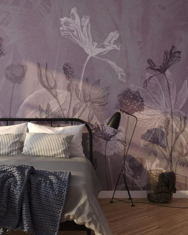 Fototapety Secret Garden   tapety 3d do sypialni