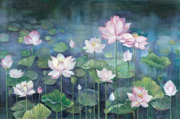 Fototapety Nuphar | fototapeta kwiaty