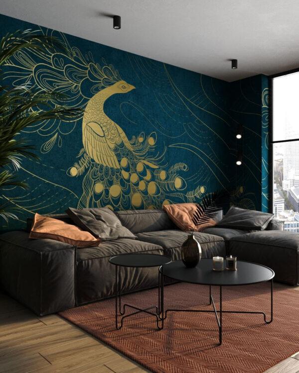 Fototapety Peafowl | tapety 3d do salonu