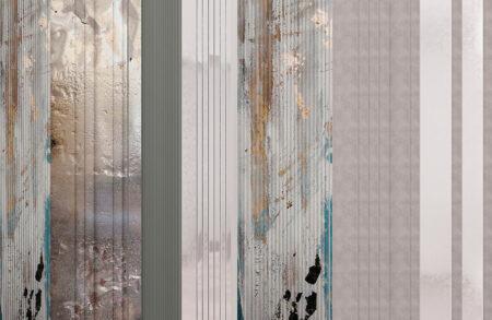 Fototapety Silkeborg szary i srebrny odcień | tapety 3d