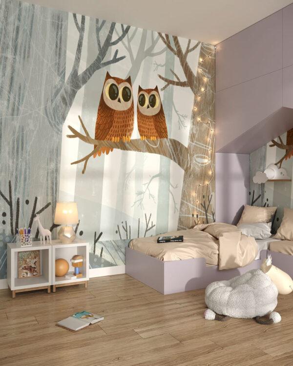 Fototapety Eulen   tapety do pokoju dziecięcego