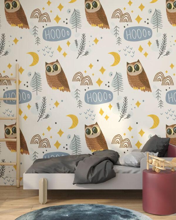 Fototapety Kleine Eulen | tapety dla dzieci 3d
