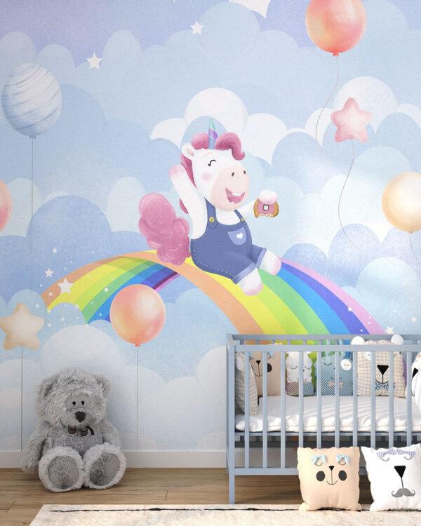Fototapety Funny Unicorn   fototapeta 3d dla dzieci