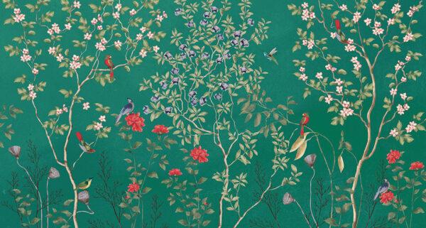 Fototapety Giardino zielone odcienie | tapety 3d do salonu