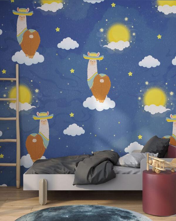 Fototapety Lama di Notte | tapeta do sypialni 3d
