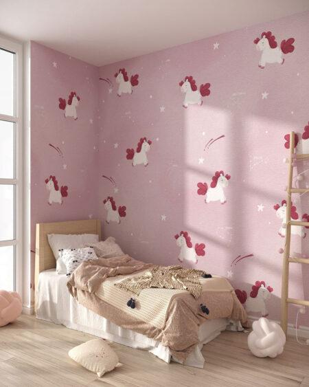 Fototapety Costellazione Unicorno | tapety do pokoju dziecięcego