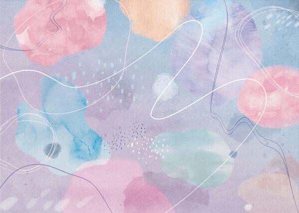 Fototapety Frei fioletowy odcień   tapeta do pokoju młodzieżowego