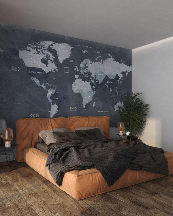 Fototapeta do sypialni Fototapety Globetrotter | mapa świata