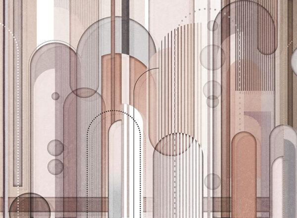 Fototapety projektantów Insolitamente beżowe odcienie | tapety 3d