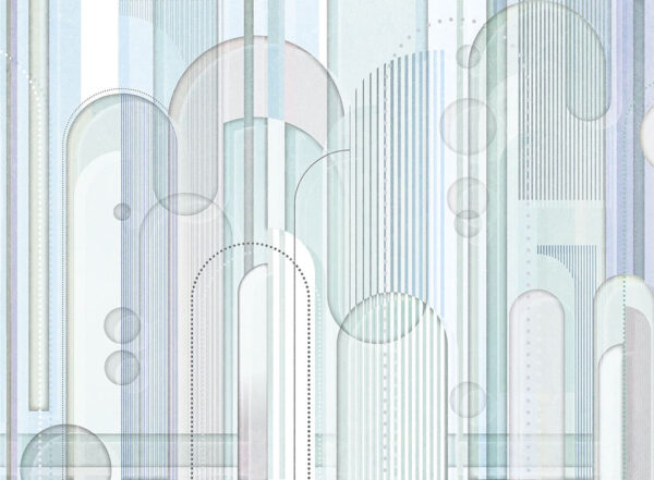 Fototapety projektantów Insolitamente niebieskawe odcienie | tapety 3d