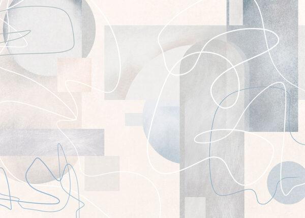 Fototapety Kritzeln jasny odcień | tapety 3d do salonu