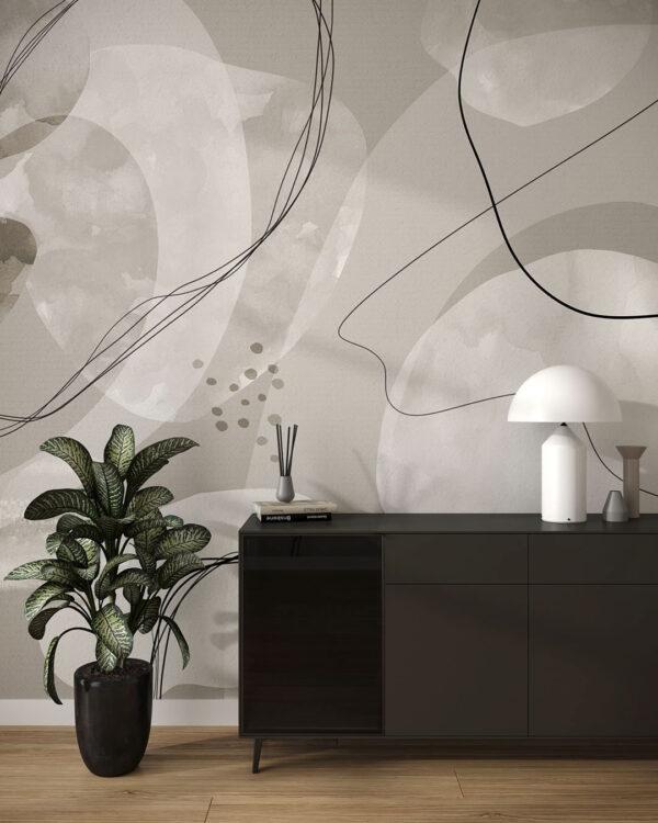 Fototapety projektantów Kringel | tapety 3d do salonu