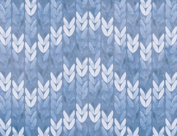 Fototapety Nyborg ciemny niebieski | tapety 3d do sypialni