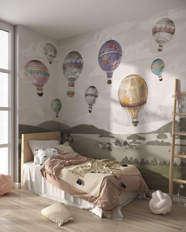Fototapety Palloncini | fototapeta do pokoju dziecka