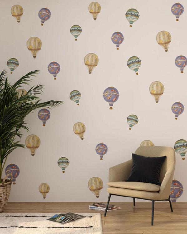 Fototapety Palloncini Pattern | tapety 3d do salonu